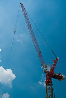 Free Crane Royalty Free Stock Photos - 16167648