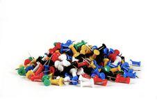 Free Colourful Tumb Tacks Stock Image - 16167711