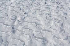 Free Snow Drifts On Frozen Lake Royalty Free Stock Images - 16167959