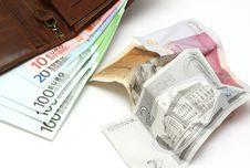 Free Changeover To The Euro In Estonia Stock Image - 16168011