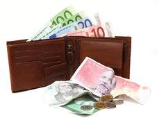 Free Changeover To The Euro In Estonia Stock Photography - 16168032
