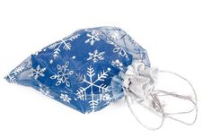 Free Blue Gift Bag Royalty Free Stock Photography - 16169077