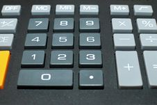 Free Calculator Buttons Royalty Free Stock Image - 16169456