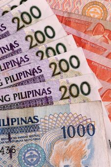 Free Philippine Banknotes Stock Images - 16169514