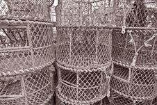 Free Lobster Pots Stock Images - 16169844