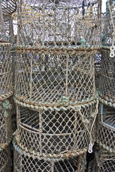 Free Lobster Pots Royalty Free Stock Images - 16169899