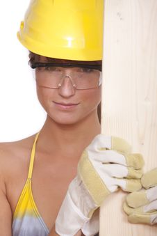 Free Female Worker Royalty Free Stock Image - 16169996