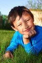 Free Little Boy In Grass Royalty Free Stock Images - 16177839
