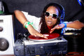 Free Cool DJ In Action Royalty Free Stock Photo - 16177895
