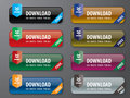 Free Internet Button Set Royalty Free Stock Photography - 16179447