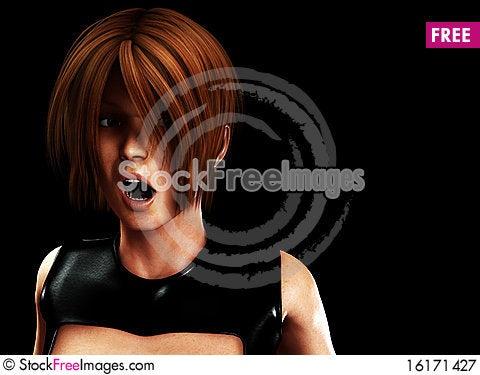 Free I Am Shocked Royalty Free Stock Photography - 16171427