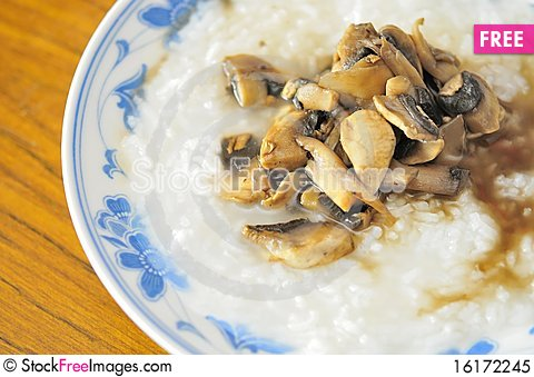 Free Simple And Healthy Porridge Royalty Free Stock Photo - 16172245