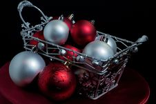 Free Christmas Balls Royalty Free Stock Image - 16170376