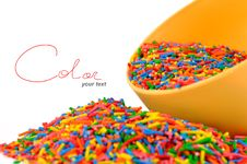 The Colored Candies Royalty Free Stock Photography