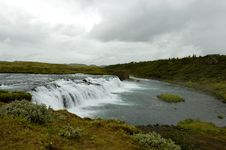 Free Faxi Waterfall, Iceland. Royalty Free Stock Images - 16170949