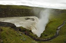 Free Gullfoss Waterfall, Iceland. Royalty Free Stock Photos - 16171038