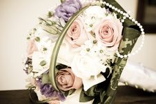 Free Wedding Bouquet Royalty Free Stock Images - 16171209