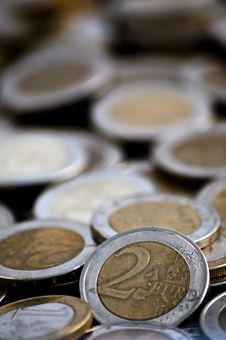 Free Pile Of Euro Coins Royalty Free Stock Photos - 16171548