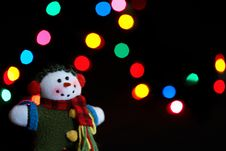 Free Snowman Ornament Stock Image - 16171731