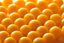 Free Yellow Vitamin Pills Royalty Free Stock Photo - 16171815
