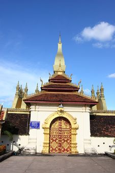 Free Golden Stupa In Vientiane-lao Royalty Free Stock Images - 16171989