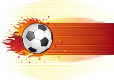 Free Soccer And Flame Stock Image - 16172041