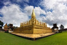 Free Golden Stupa In Vientiane-lao Stock Photos - 16172113