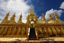 Free Golden Stupa In Vientiane-lao Stock Photo - 16172170