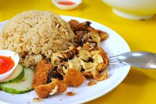Free Vegetarian Chicken Rice Royalty Free Stock Image - 16172376