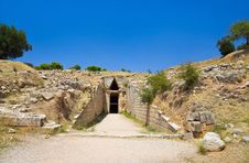 Free Treasury In Mycenae Town, Greece Royalty Free Stock Images - 16172389