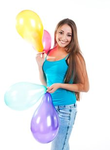 Free Happy Cute Women Stock Photos - 16172943
