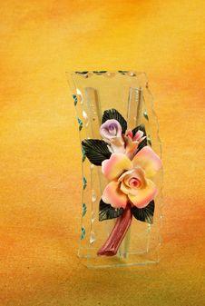 Free Glass Flower Pot Royalty Free Stock Photos - 16173048
