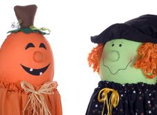 Free Halloween Characters Talking Stock Images - 16173164