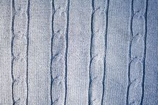 Free Blue Wool Texture Royalty Free Stock Images - 16173199