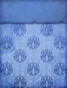 Free Vintage Blue Paper Stock Photos - 16173293