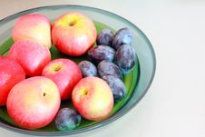 Free Apples And Plums Stock Photo - 16173710