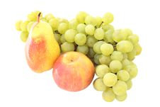 Free Pears And Grapes Stock Images - 16173714
