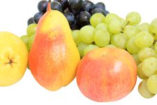 Free Pears And Grapes Royalty Free Stock Image - 16173726