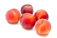 Free Five Peaches Stock Photos - 16173893