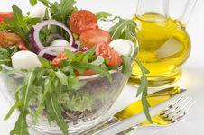 Free Fresh Green Vegetable Salad Stock Image - 16174661