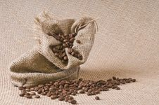 Free Coffee Sack Stock Photography - 16174802