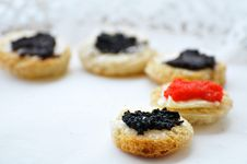 Free Caviar On A Plate Royalty Free Stock Images - 16174879