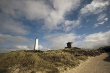 Free Bunker And Lighthouse Stock Image - 16174941