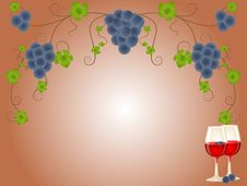 Free Red Wine And Grapes Stock Photos - 16175583