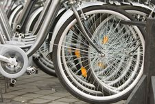 Free Bicycles Detail Stock Photography - 16177052