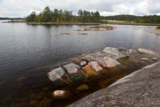 Ladoga Islands Stock Photography