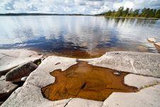 Ladoga Islands Stock Image