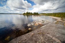 Ladoga Islands Royalty Free Stock Photos