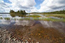 Ladoga Islands Royalty Free Stock Photo