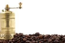 Free Coffee Grinder Stock Photography - 16177542